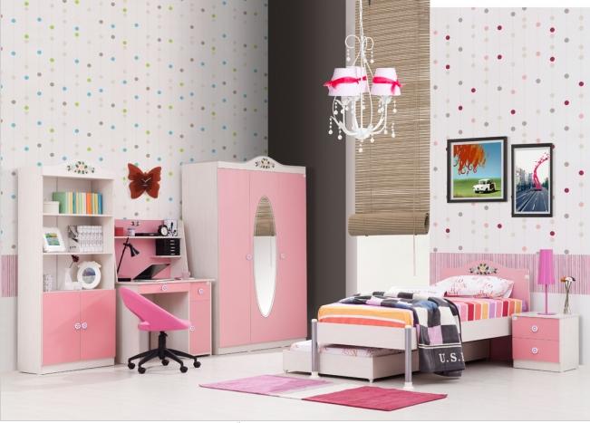 Цвет комнаты для девочки